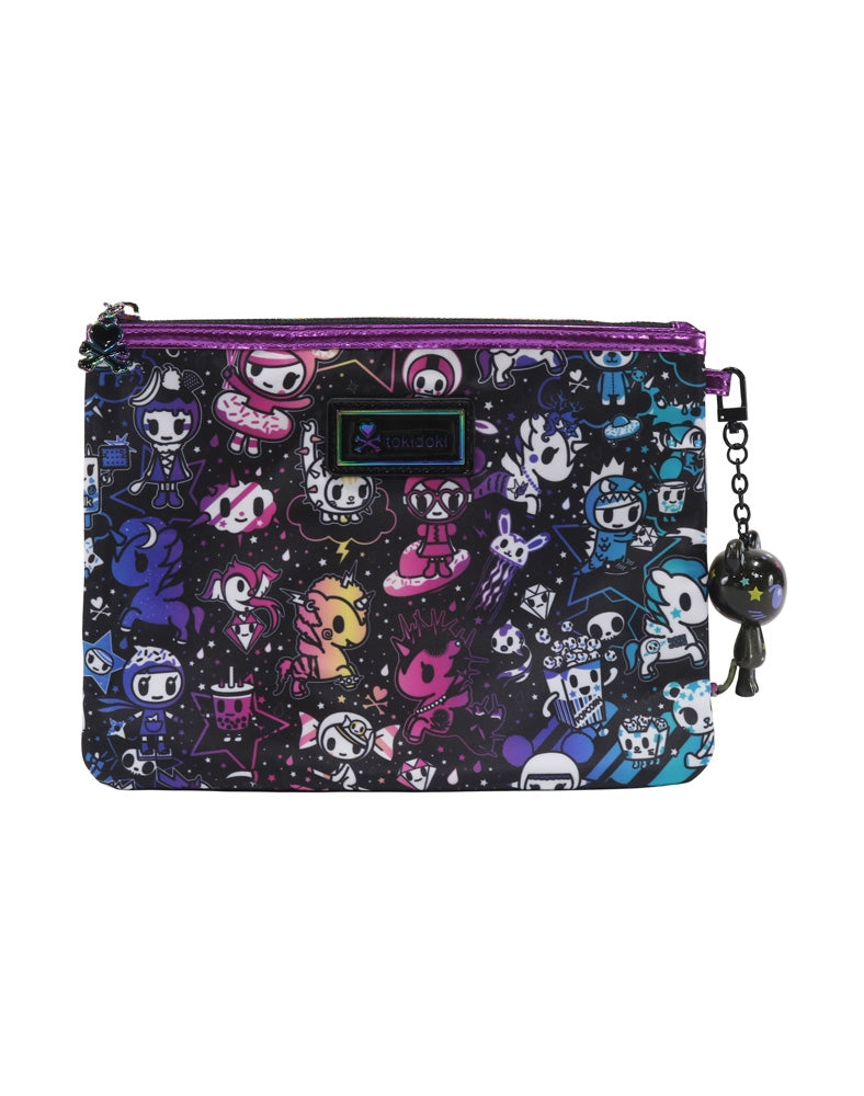 Galactic Dreams Zip Pouch front