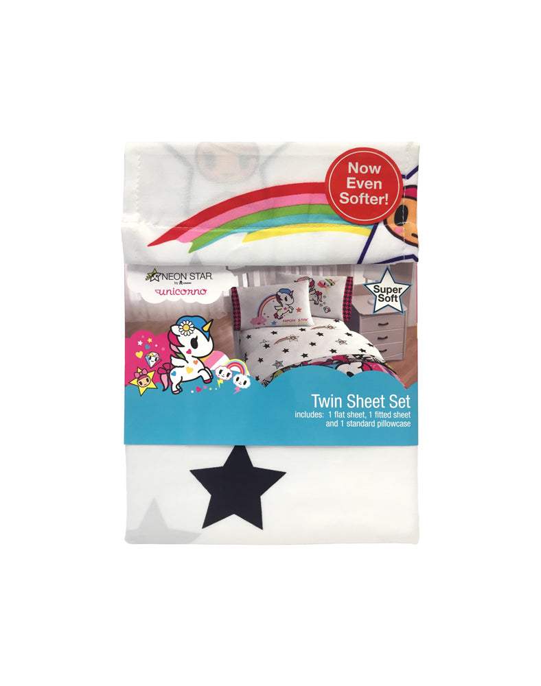 Unicorno Twin Sheet Set