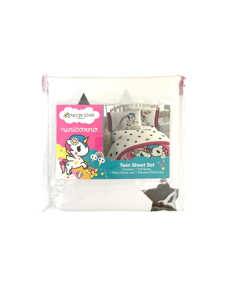 tokidoki Unicorno Twin Sheet Set