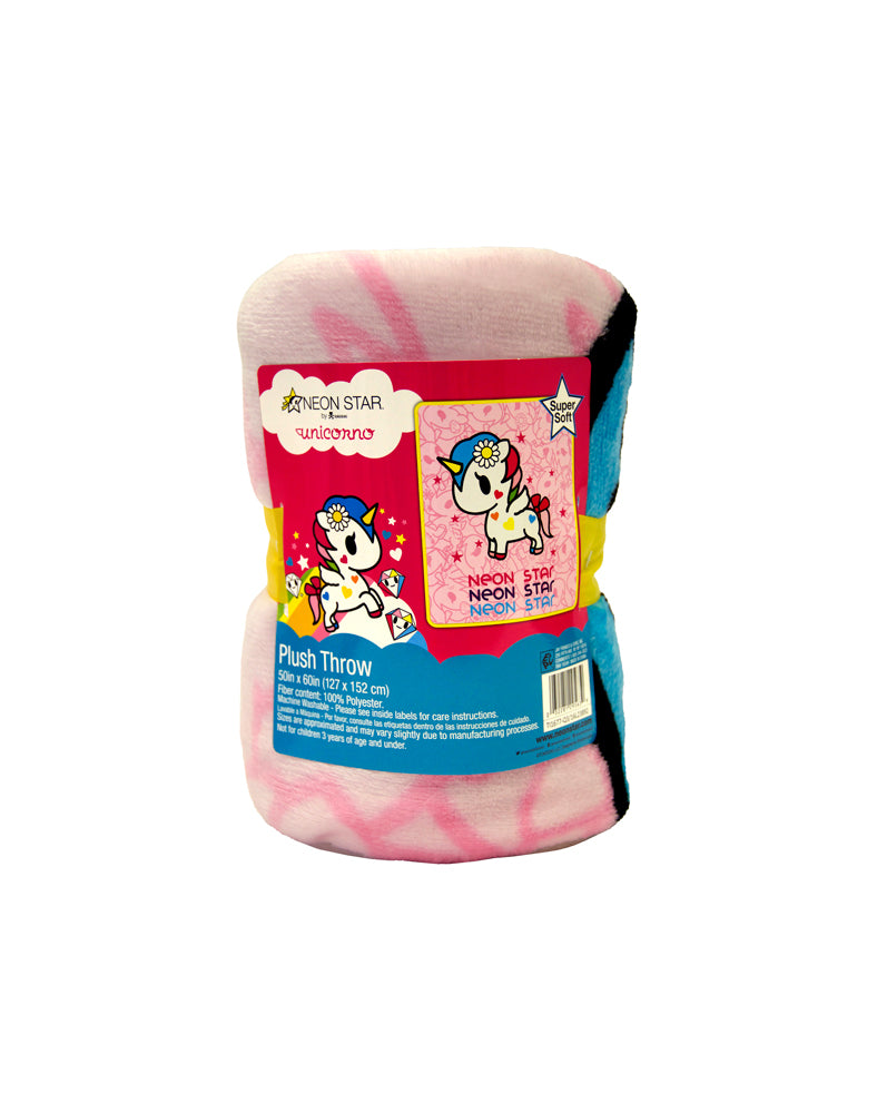 tokidoki Unicorno Plush Throw