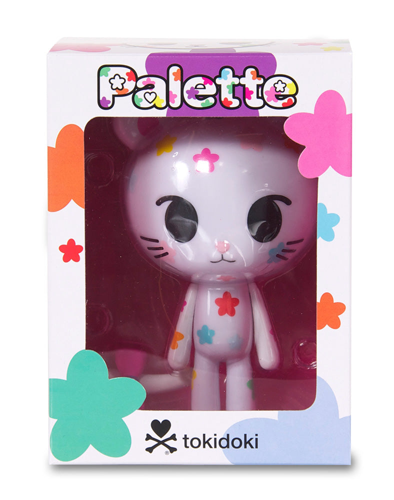 Palette Vinyl figure in box front