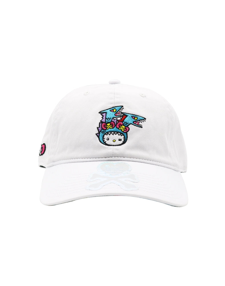 tokidoki x Hello Kitty Kaiju Kitty Bow Women's Adjustable Dad Hat front
