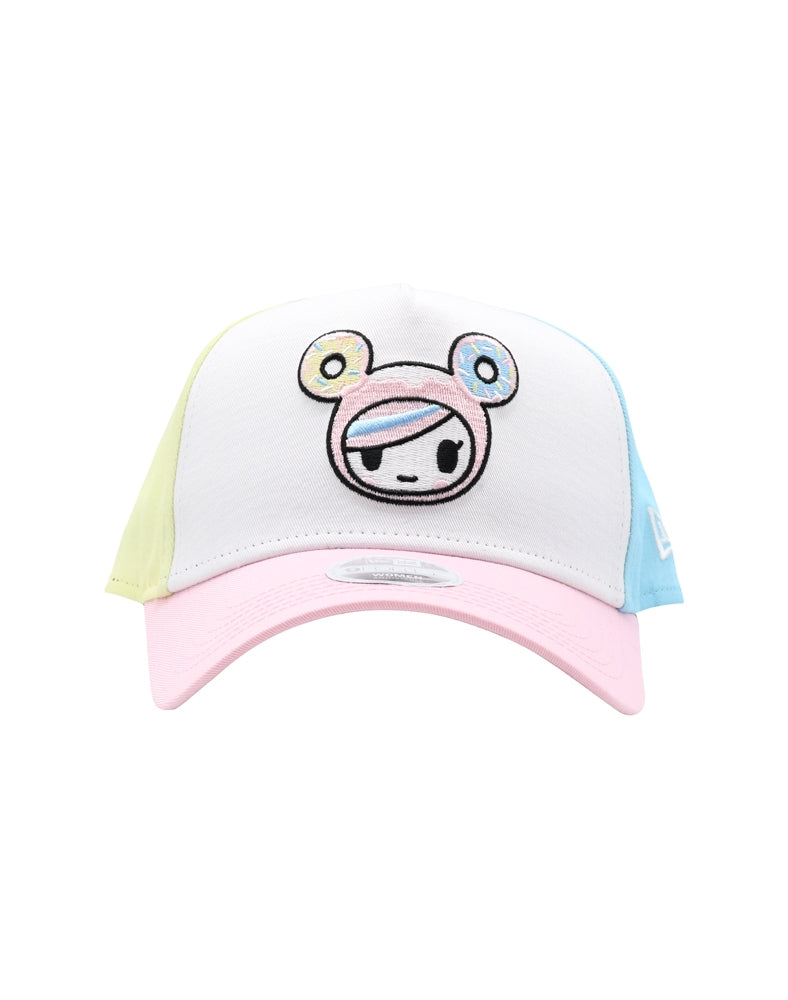Pretty Pink Donutella Women's Snapback front