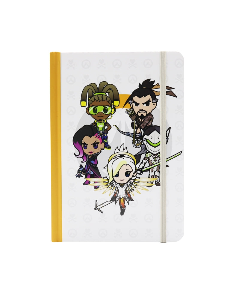 tokidoki x Overwatch Heroes Notebook front cover
