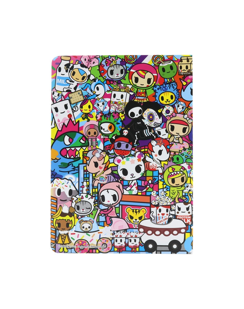 tokidoki City Soft Cover Notebook back cover