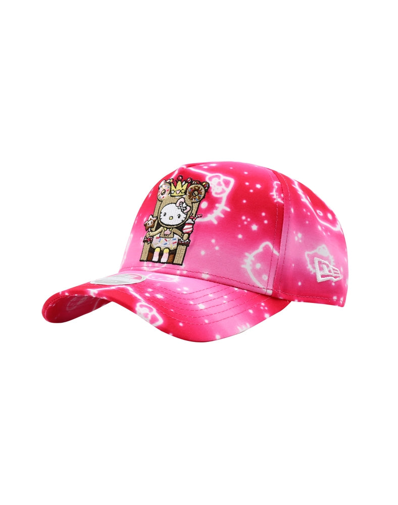 tokidoki x Hello Kitty Donut Queen Kitty Women's Snapback front side