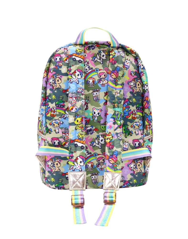 Camo Kawaii Backpack back