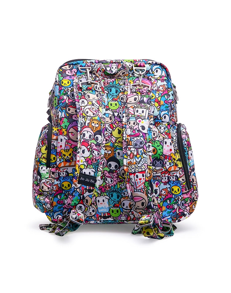 tokidoki x Ju-Ju-Be Be Nurtured Iconic 2.0 back