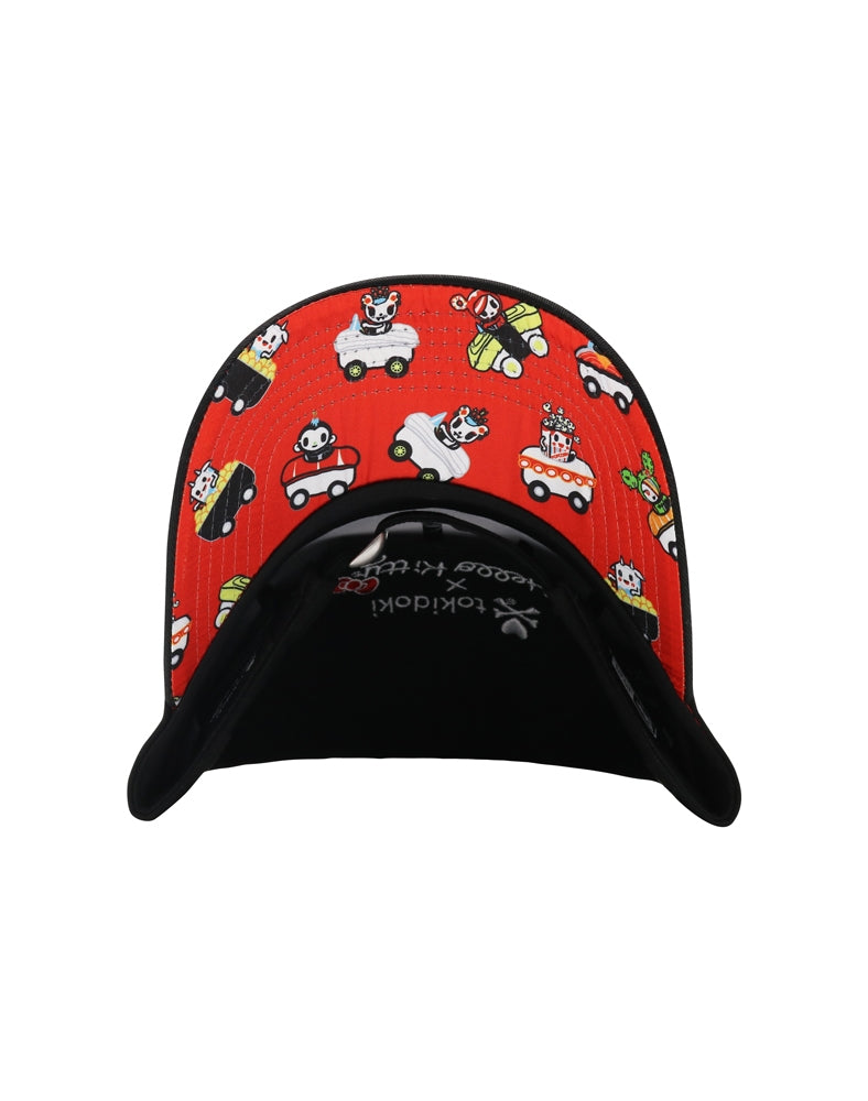 bcb268cfcef tokidoki x Hello Kitty Sushi Car Women s Adjustable Dad Hat