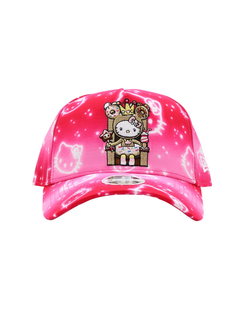 tokidoki x Hello Kitty Donut Queen Kitty Women's Snapback front