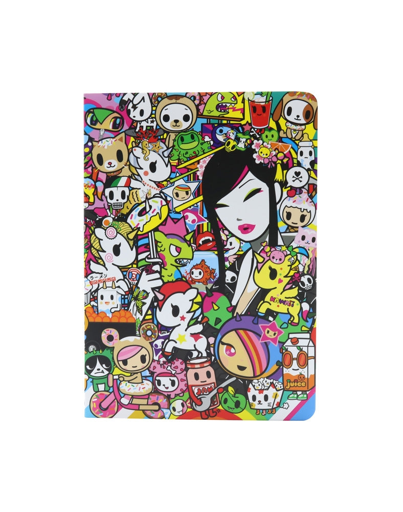 tokidoki City Soft Cover Notebook front cover