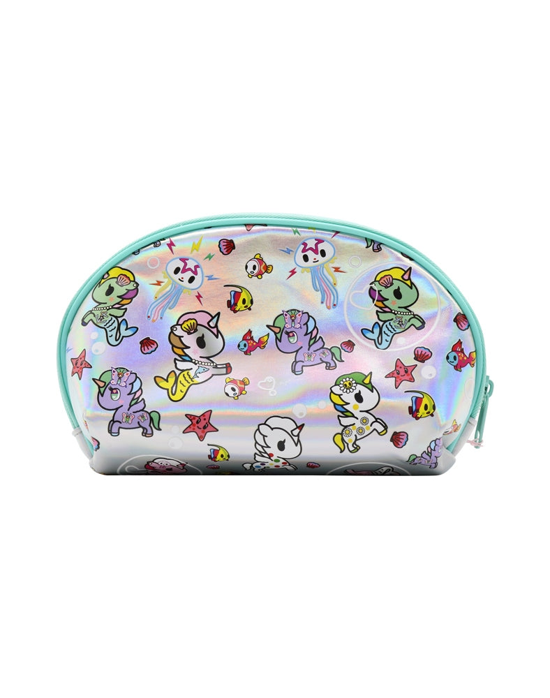 Under the Sea Iridescent Pouch back
