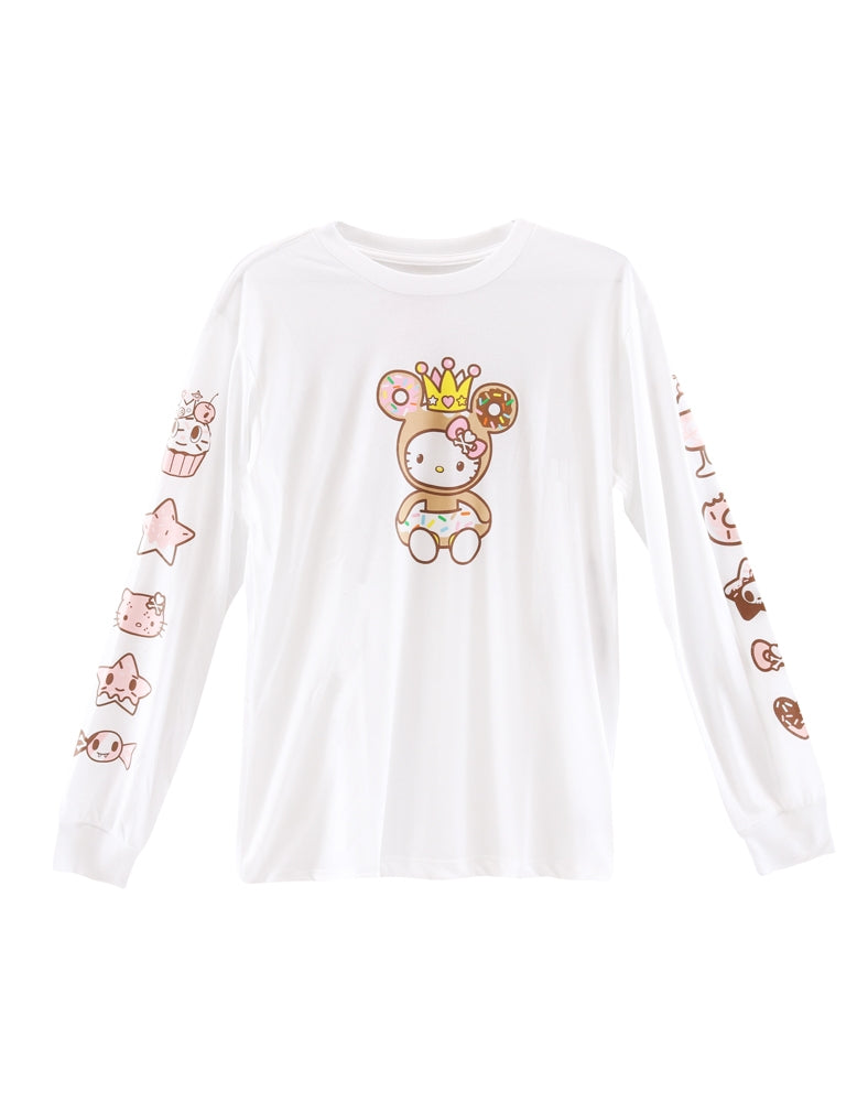 tokidoki x Hello Kitty Sweet Shop Kitty Long Sleeve Tee (Unisex) front