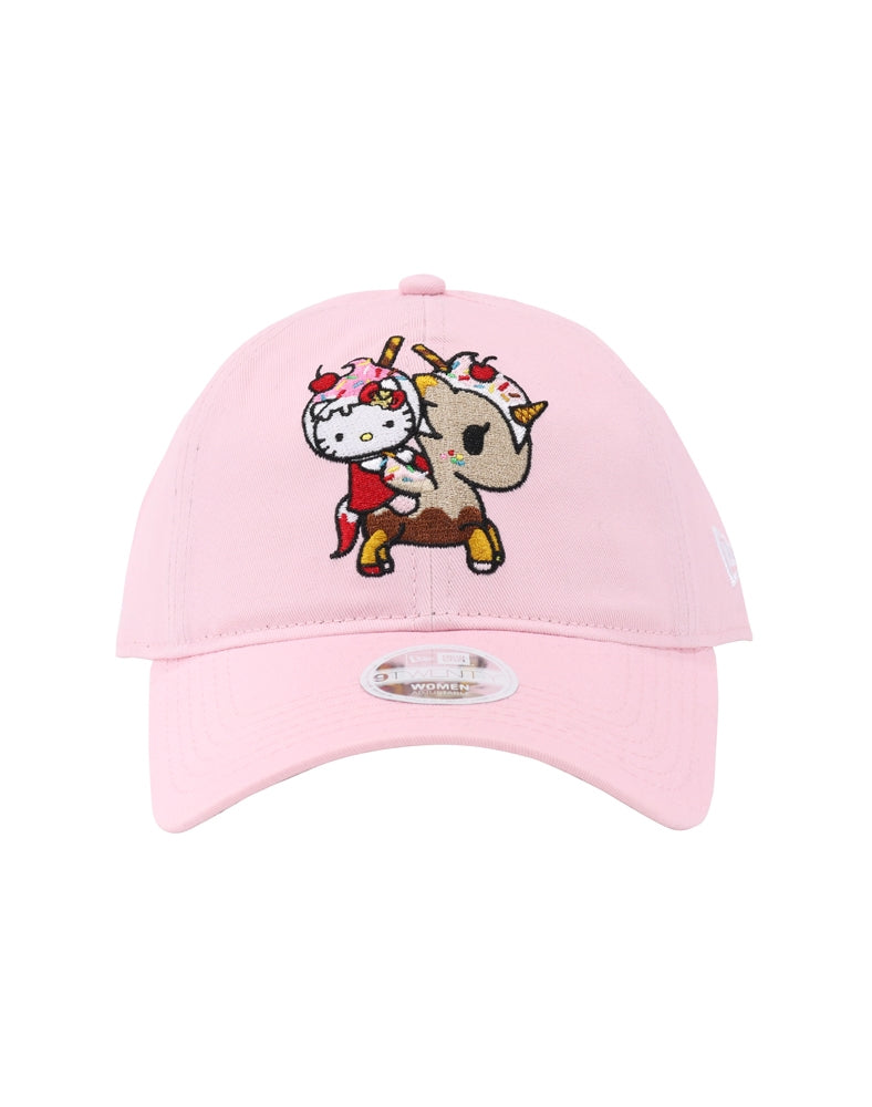 tokidoki x Hello Kitty Super Sweet Women's Dad Hat front