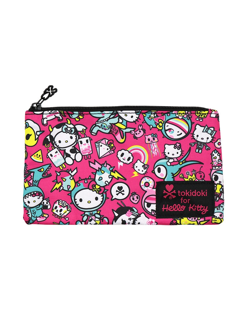 tokidoki x Hello Kitty Kawaii Pencil Pouch front