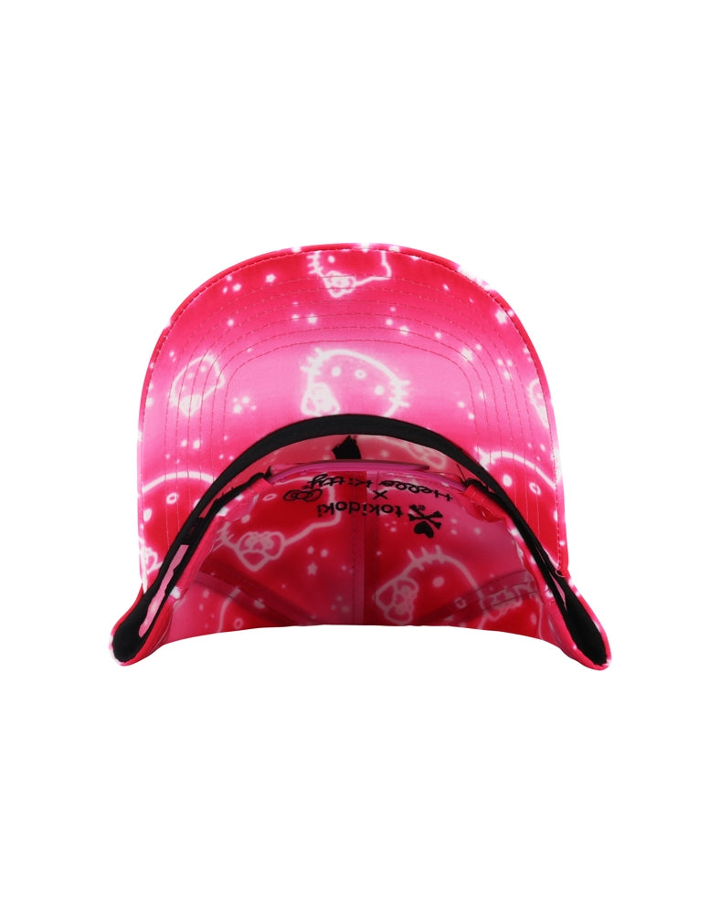 tokidoki x Hello Kitty Donut Queen Kitty Women's Snapback brim underside