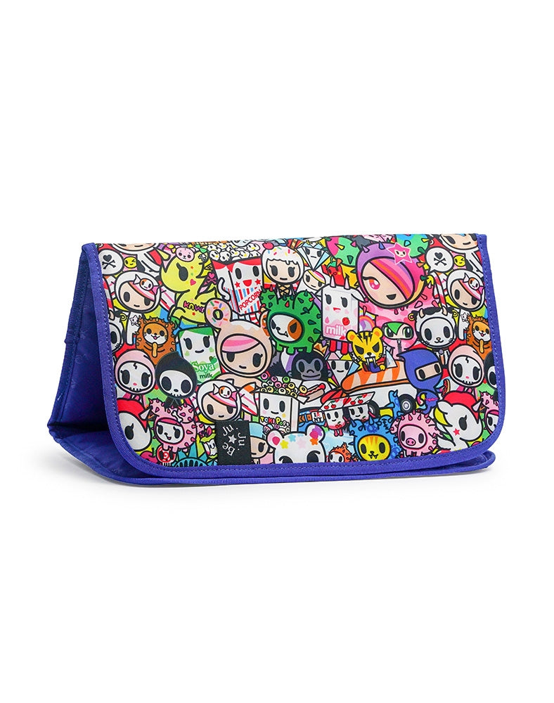 tokidoki x Ju-Ju-Be Memory Foam Changing Pad Iconic 2.0 front side
