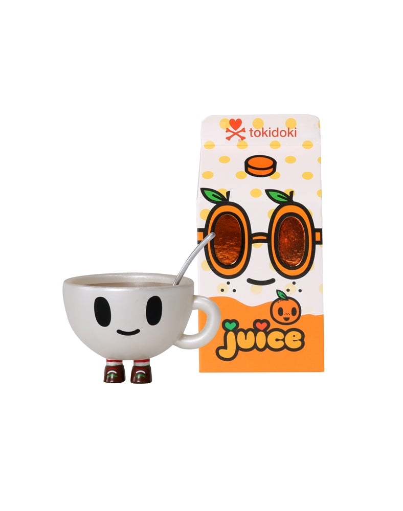 Moofia Breakfast Besties Blind Box Collectibles figure next to box