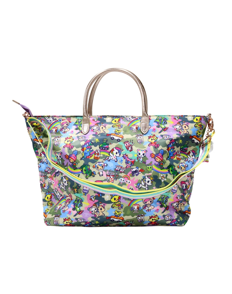 Camo Kawaii Carry All Tote back