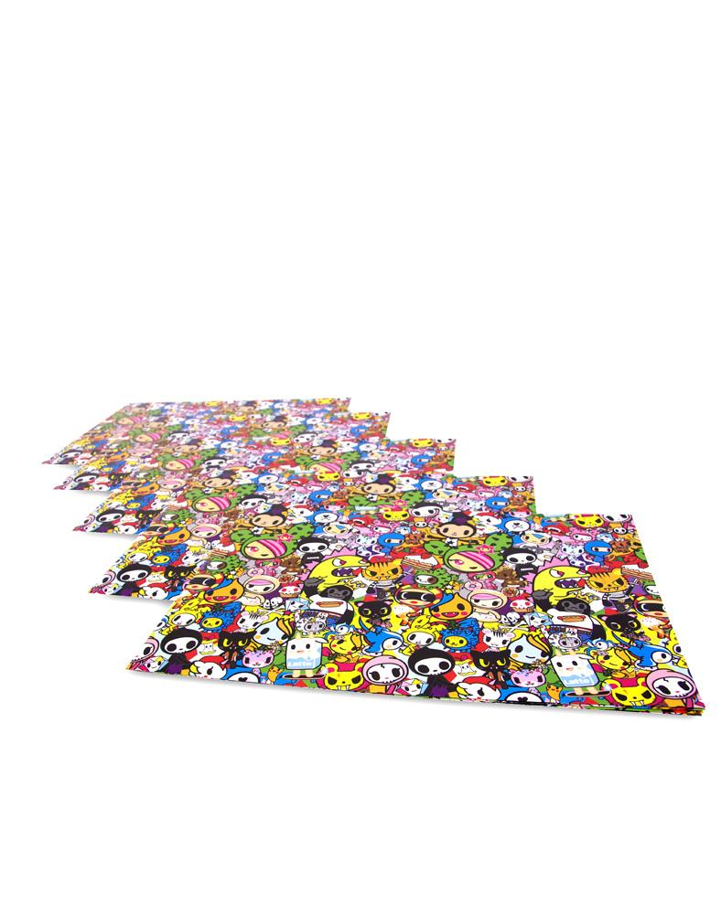 tokidoki All Stars Wrapping Paper multiple sheets