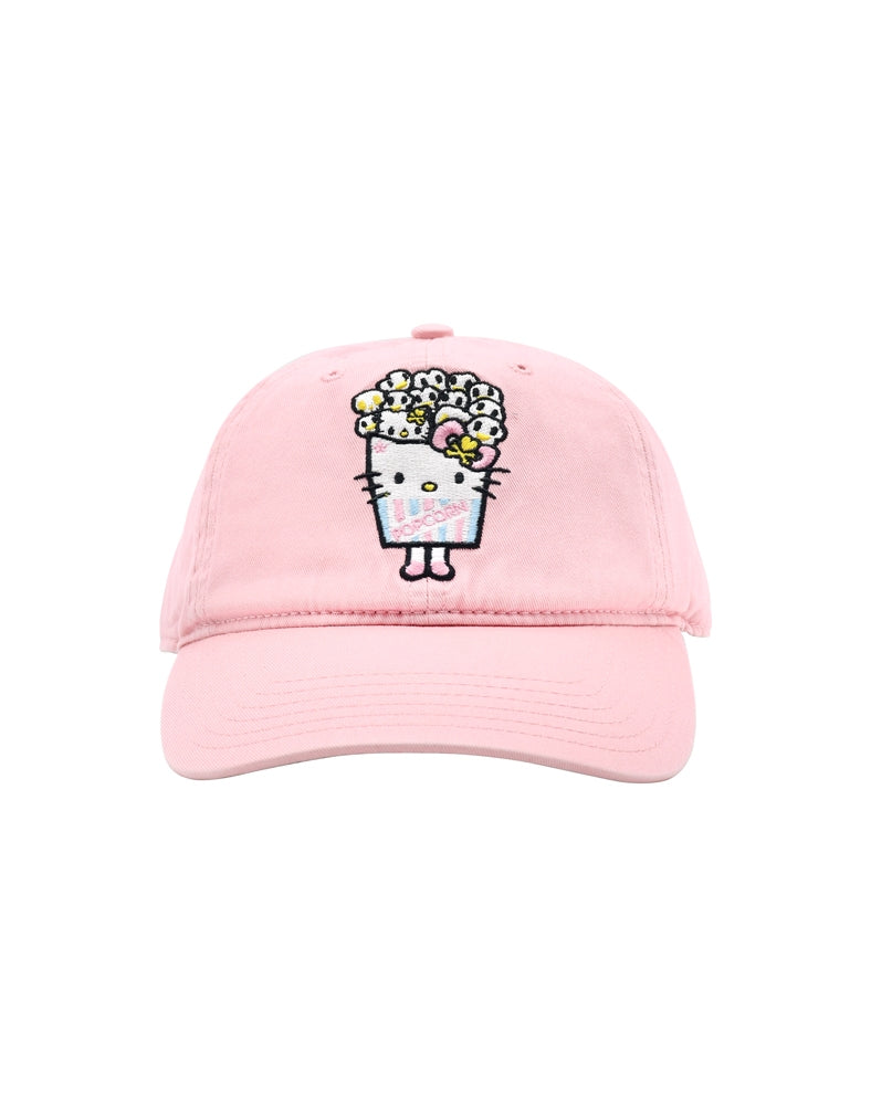 tokidoki x Hello Kitty Popcorn Kitty Women's Adjustable Dad Hat front