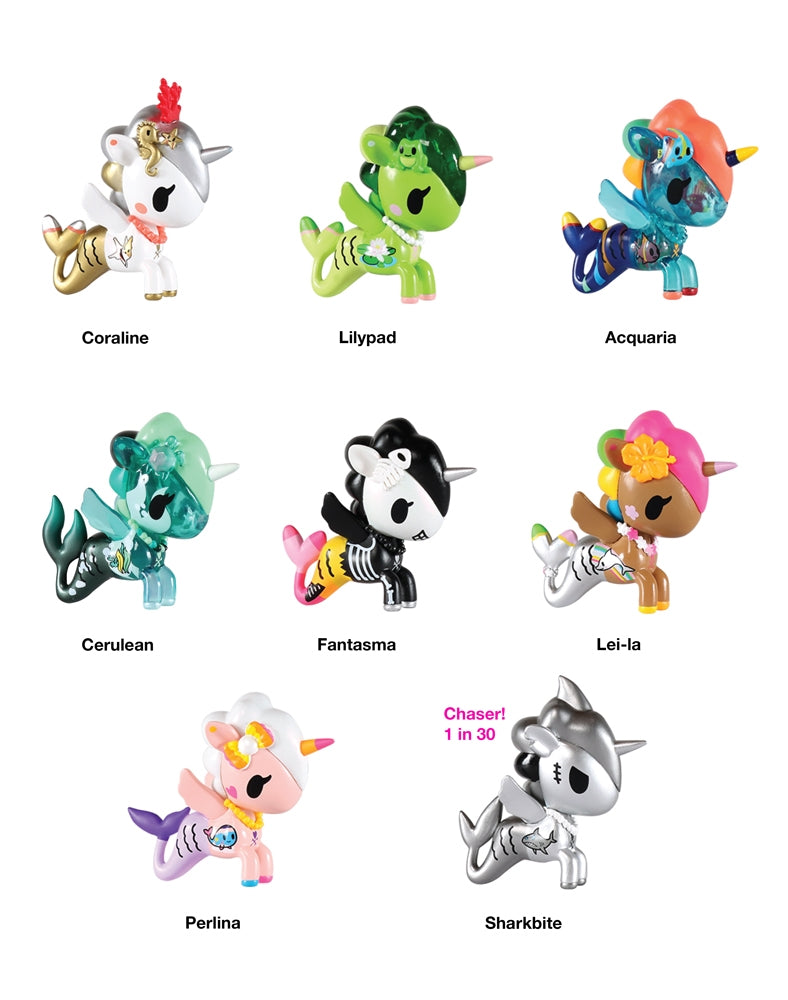Mermicorno Blind Box Series 2 figures with names