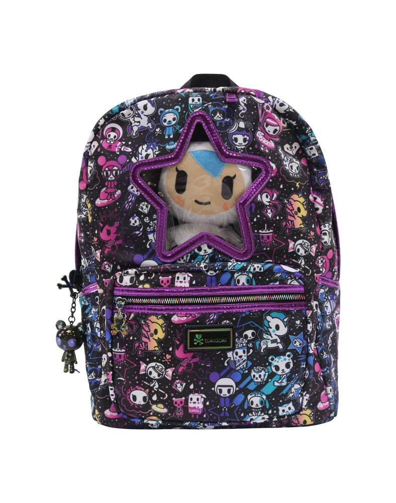 Galactic Dreams Star Window Backpack front