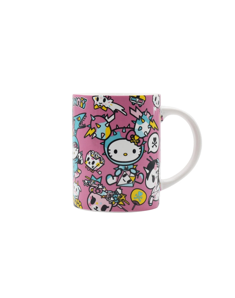 tokidoki x Hello Kitty Kawaii Ceramic Mug out of box