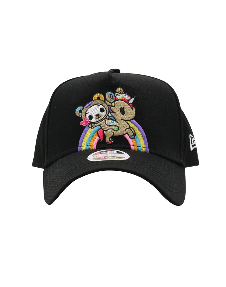 Rainbow Ride Women's Snapback front