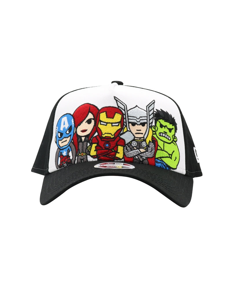 Marvel | tokidoki Ready for Action Women's Snapback front