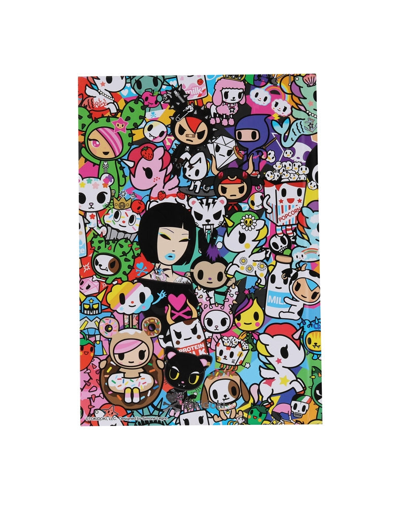 tokdioki All Stars Hard Cover Notebook front cover