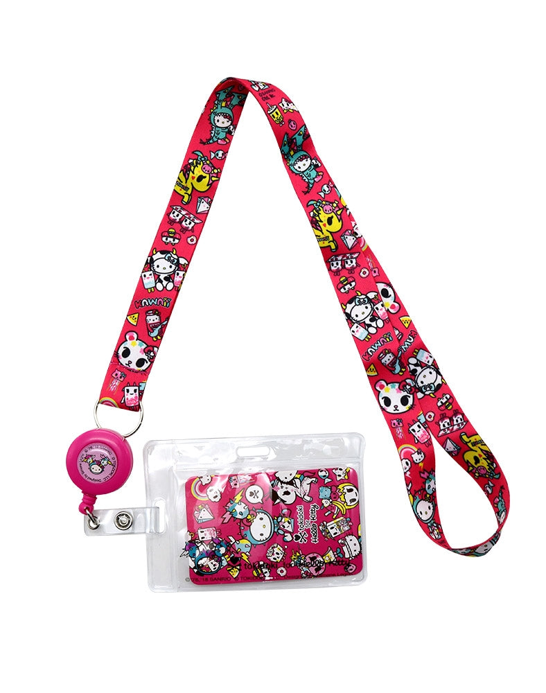 tokidoki x Hello Kitty Kawaii Key Leash Lanyard full shot