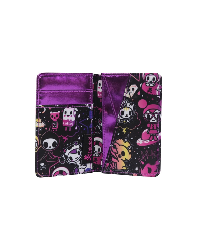 Galactic Dreams Small Bifold Wallet inside