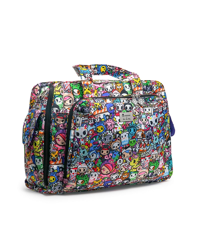 tokidoki x Ju-Ju-Be Be Prepared Diaper Bag Iconic 2.0 front side