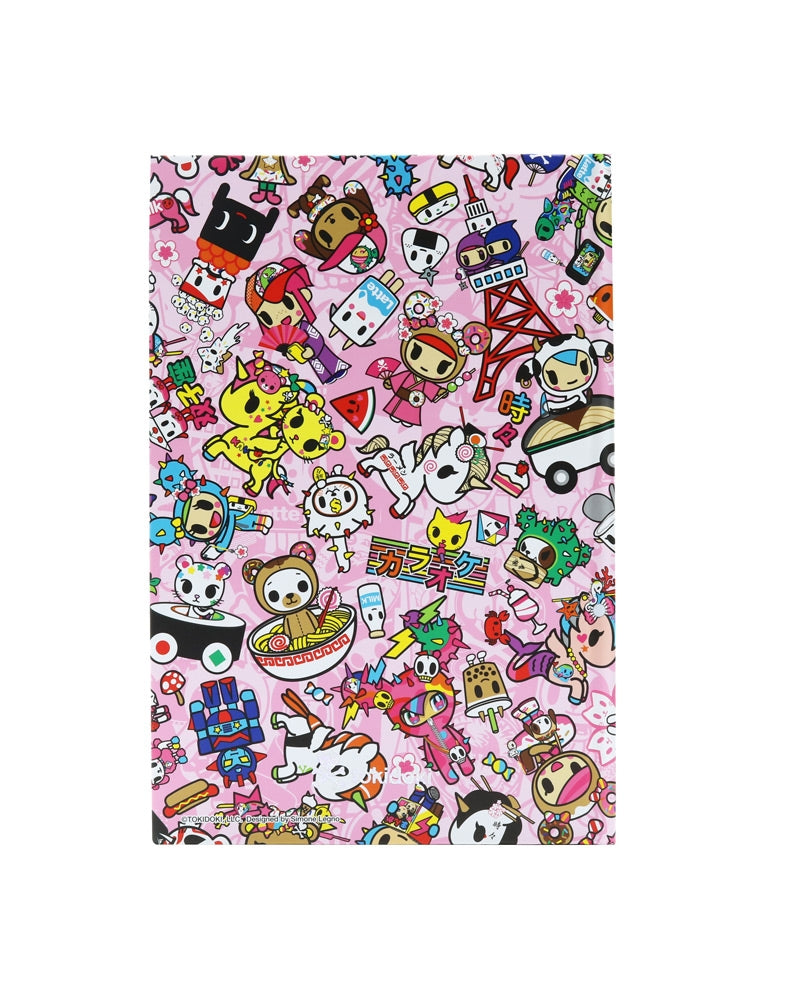 Toki Kawaii Hard Cover Notebook front cover