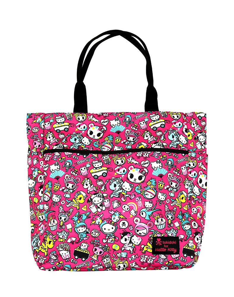 tokidoki x Hello Kitty Kawaii Shoulder Tote front