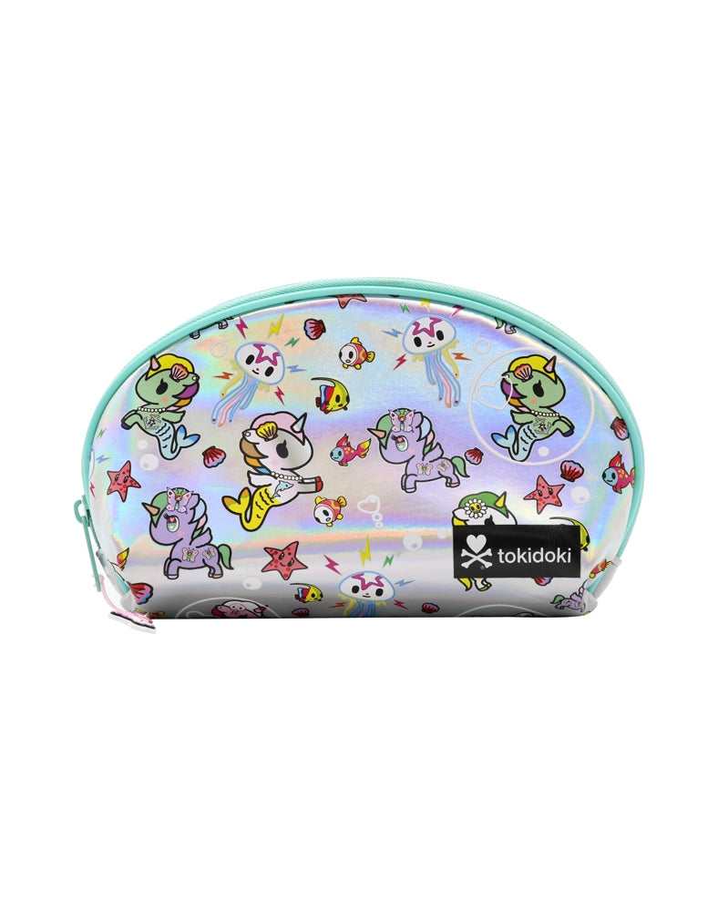 Under the Sea Iridescent Pouch front