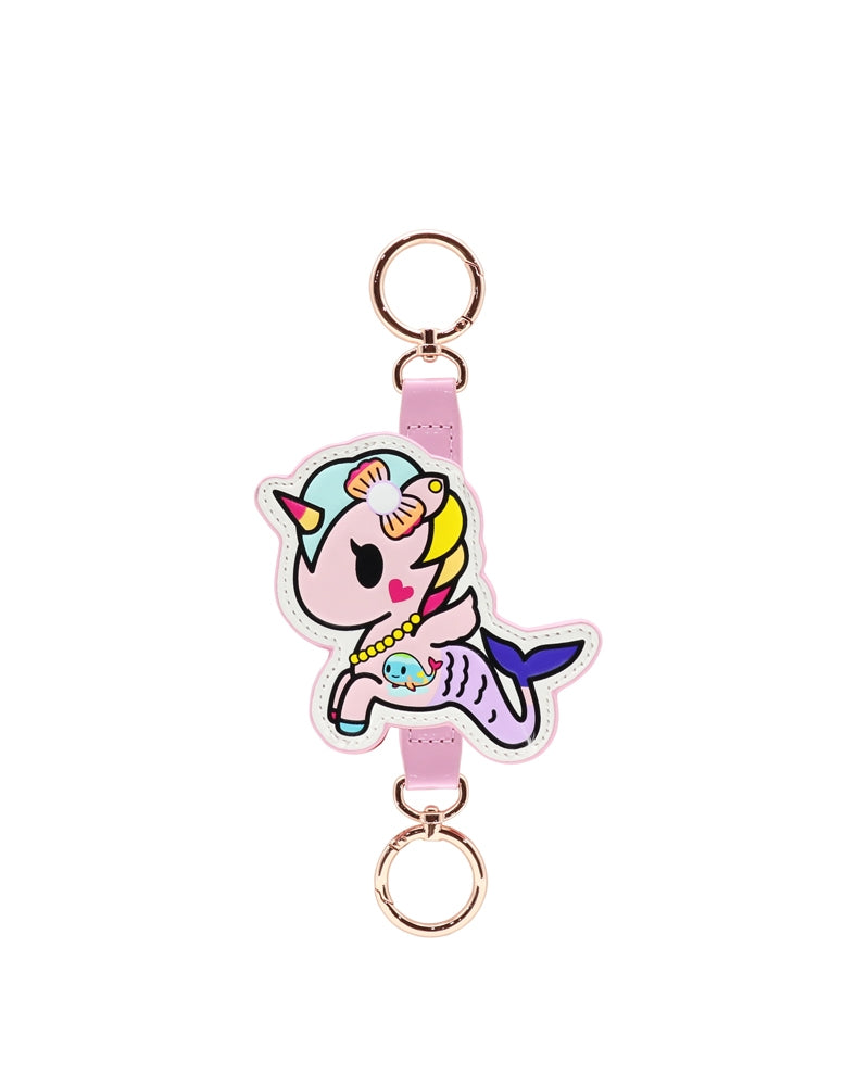 Denim Daze Perlina Keychain front