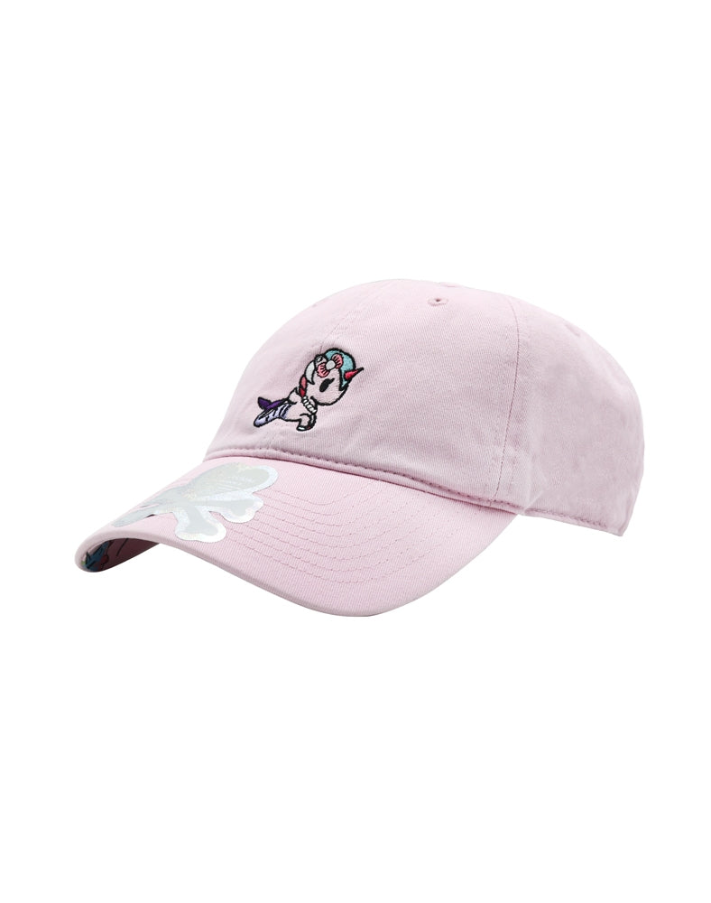 Perlina Women's Adjustable Dad Hat front side