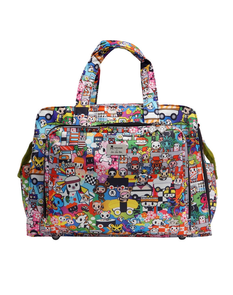 tokidoki x Ju-Ju-Be Be Prepared Diaper Bag Sushi Cars front
