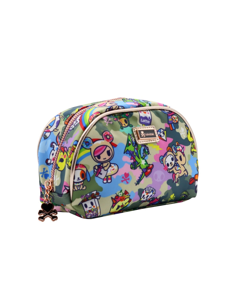 Camo Kawaii Cosmetic Bag side