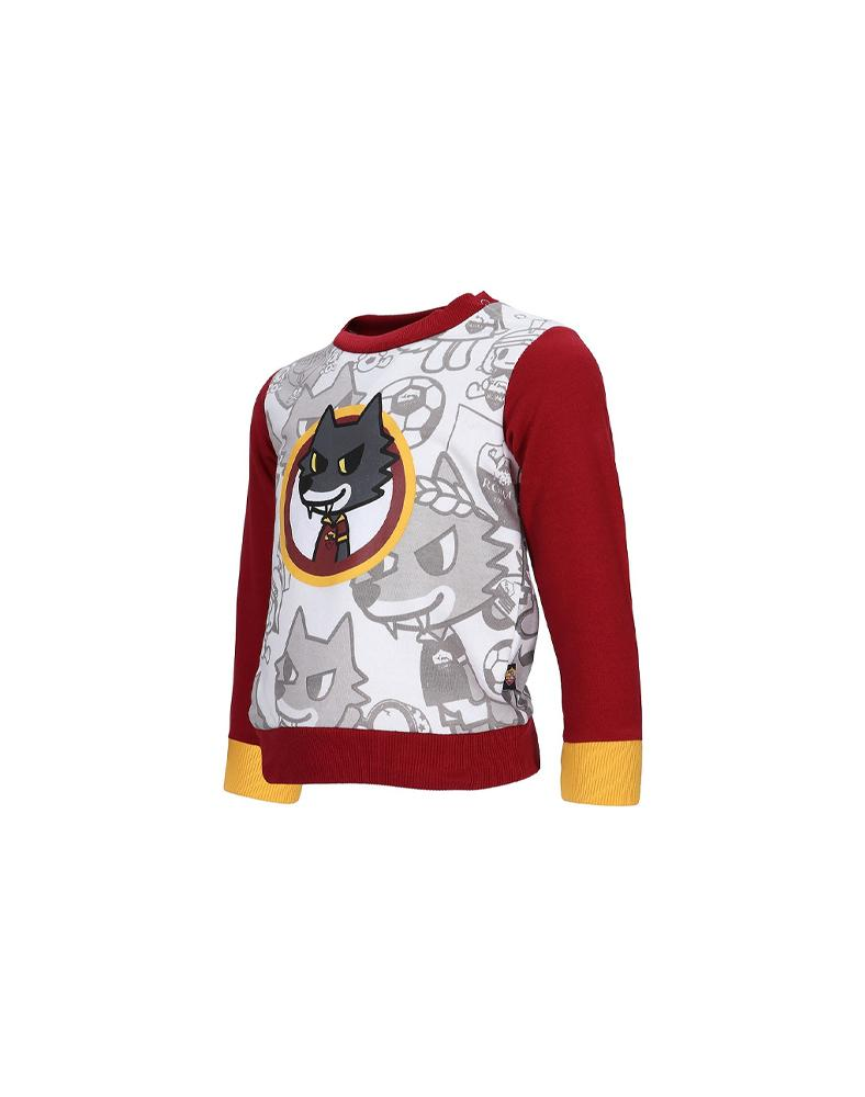 AS Roma x tokidoki Romolo Infant Sweater Alt View