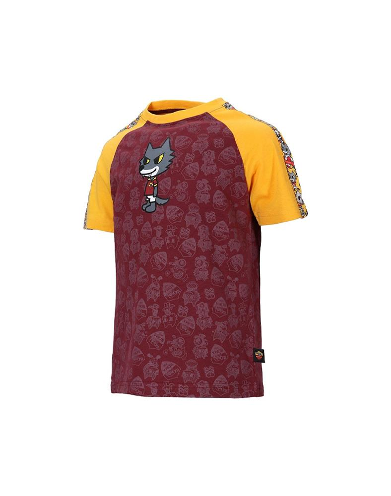 AS Roma x tokidoki Romolo Kids Tee Alt View