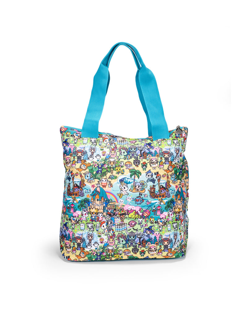 tokidoki x JuJuBe All That Tote Fantasy Paradise Back