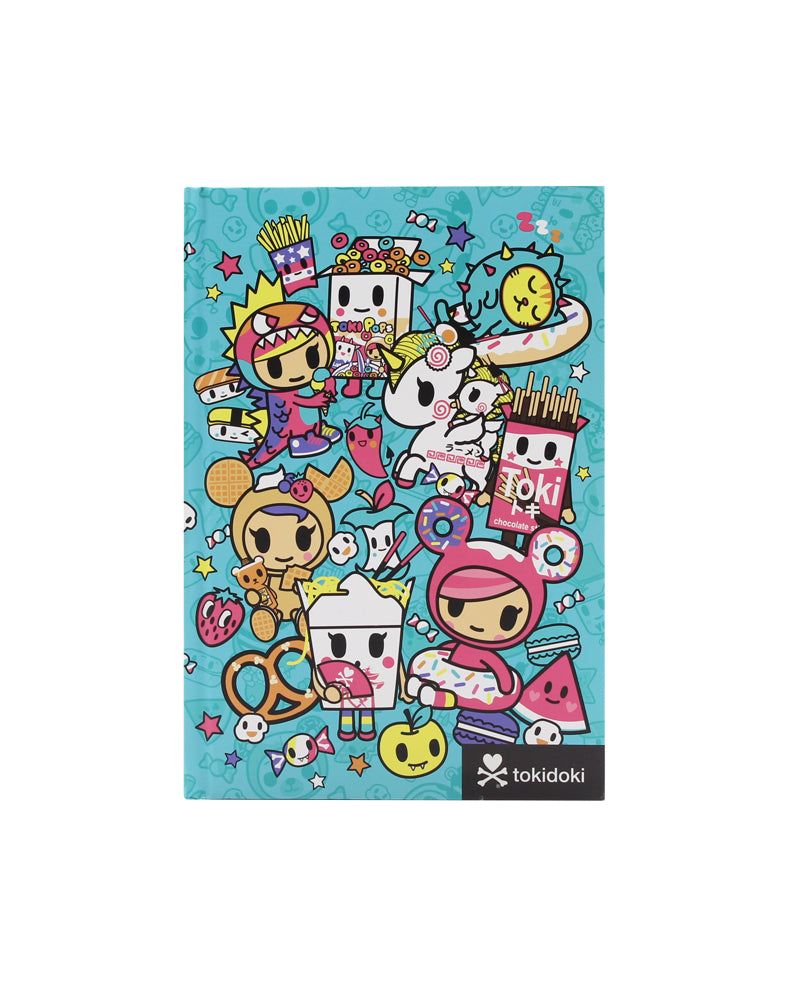 tokidoki-Con All You Can Eat Notebook Front