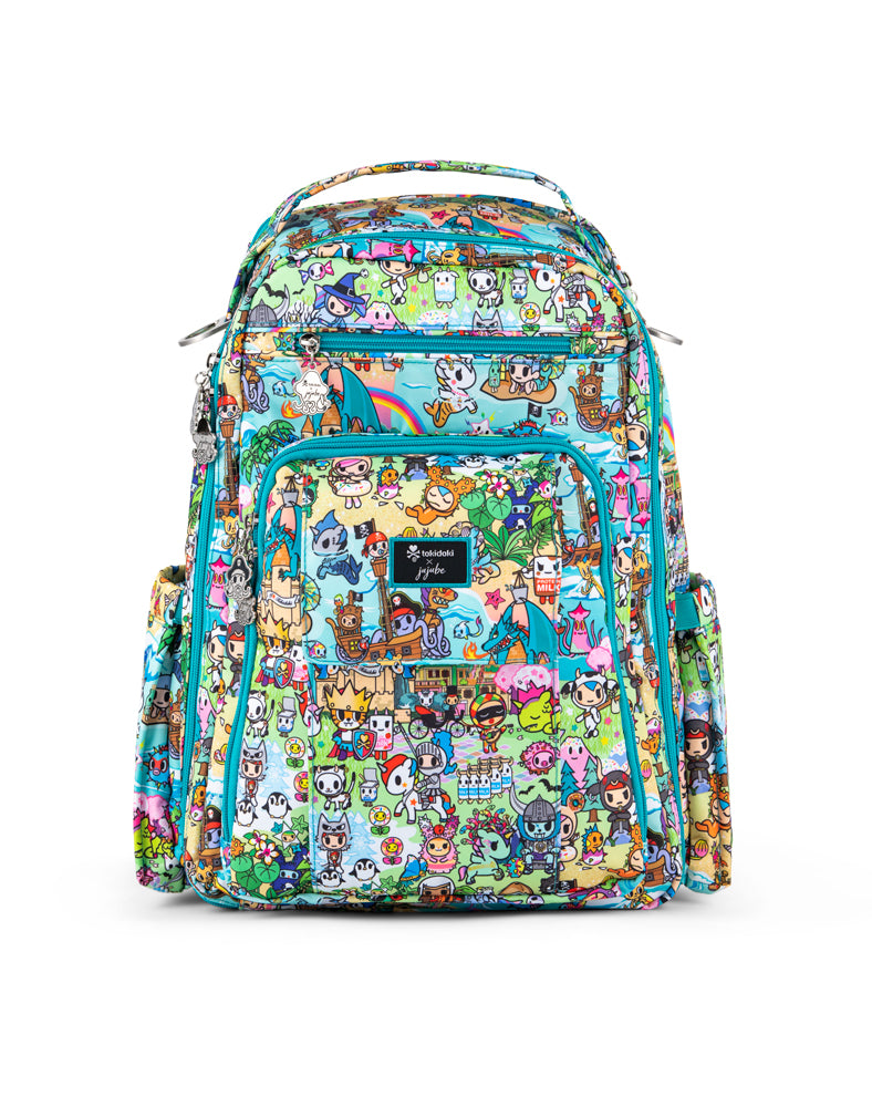 tokidoki x JuJuBe Be Right Back Fantasy Paradise Front