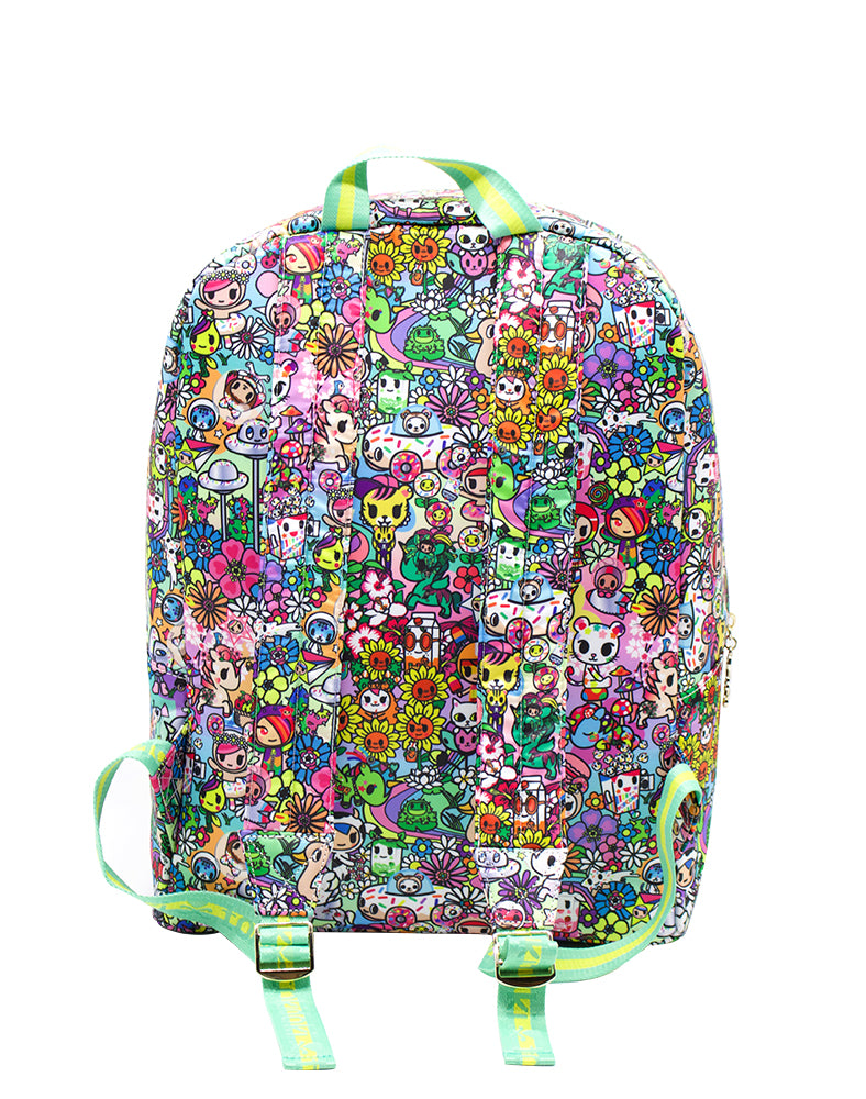tokidoki Flower Power Backpack Back