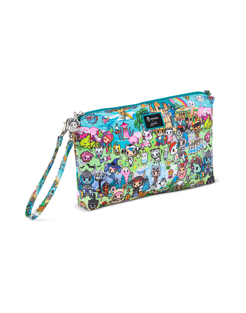 tokidoki x JuJuBe Be Quick Clutch Fantasy Paradise Front