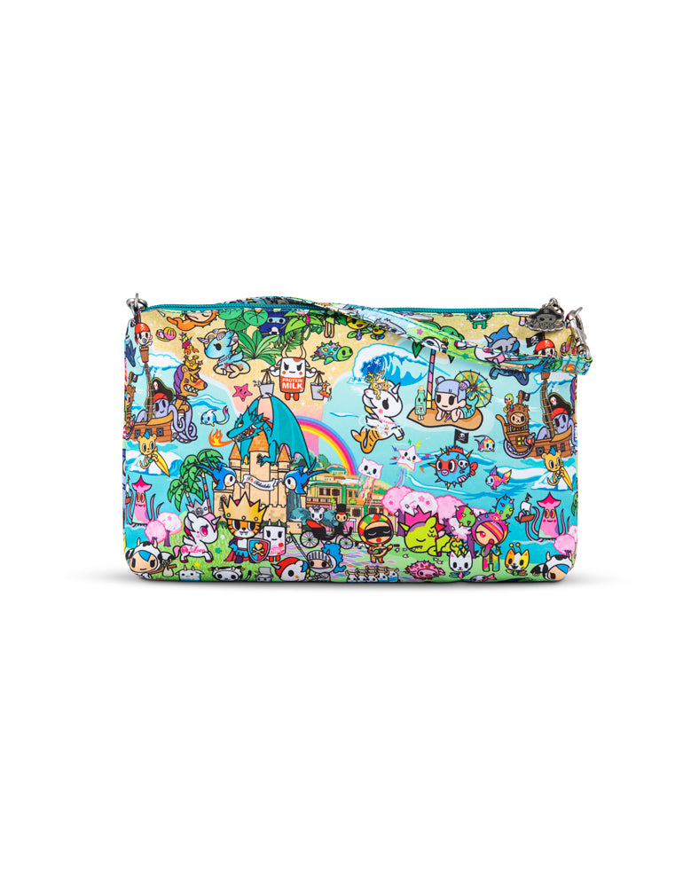 tokidoki x JuJuBe Be Quick Clutch Fantasy Paradise Back