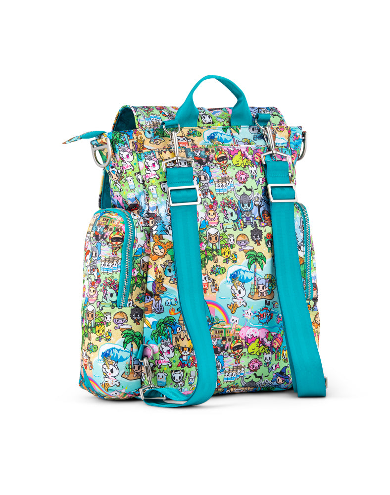 tokidoki x JuJuBe Be Sporty Fantasy Paradise Back